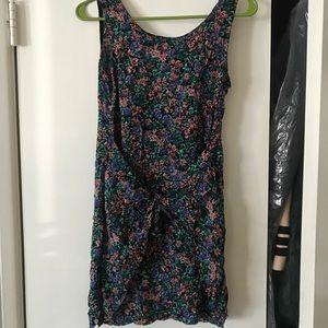 ✨90s vintage wet seal floral wrap dress sz. s